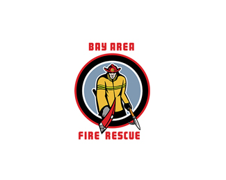 Bay Area Fire Rescue Logo