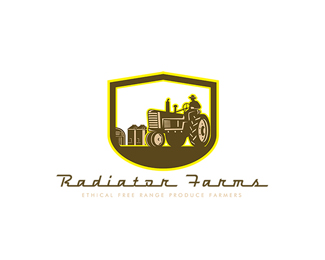 Radiator Farms Free Range Produce Logo