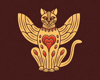 Bastet Cat Logo