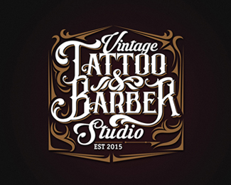 Vintage tattoo & Barber studio