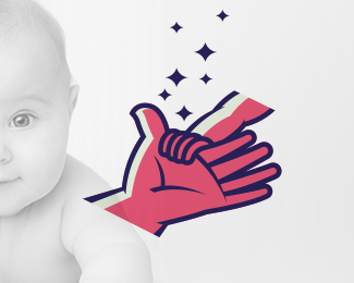Parent with Baby Hand (Logo for sale)