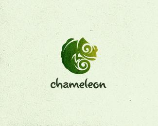 Green chameleon logo - photo#8