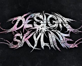 Design The Skyline band logo