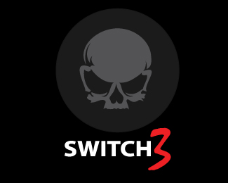 Switch 3 Gothic Logo