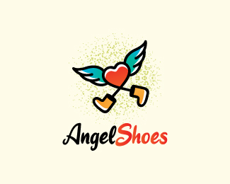 Angel Shoes Logo