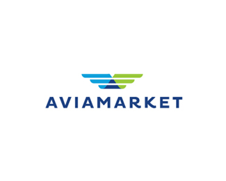 Aviamarket Logo Design