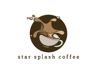 Star splash coffee