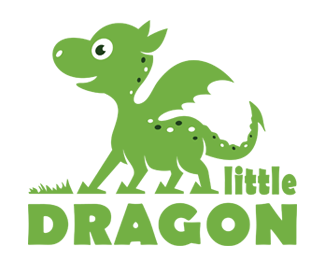 Little Dragon Logo for Sale