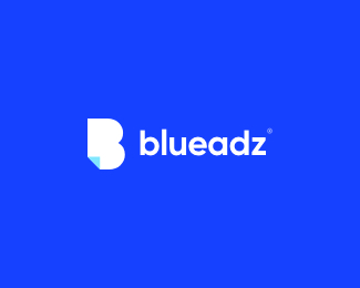 blueadz logo icon