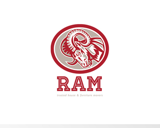 Ram Trusted House and Furniture Movers Logo