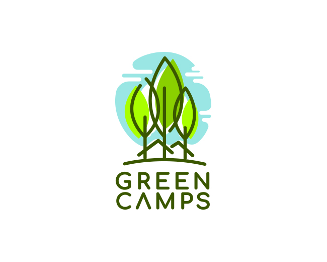 Logo design for Green Camps Initiative