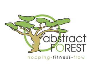 Abstract Forest Yoga