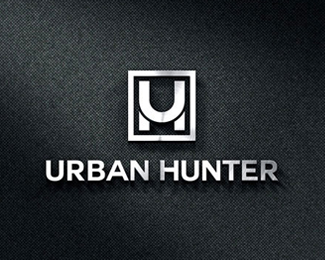 Urban Hunter logo design