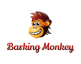 Barking Monkey Logo