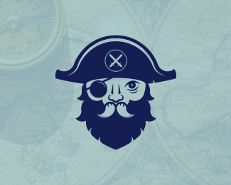 Iconic Pirate Logo For Sale