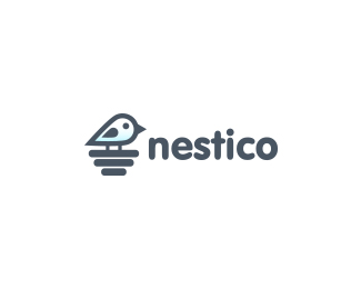 Logo design inspiration #31 - nestico by Viktor