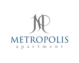 Logopond logo brand identity inspiration metropolis for Apartment logo inspiration
