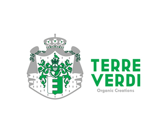Terre Verdi, organic products logo design