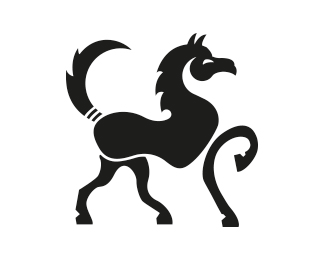 black beauty horse logo