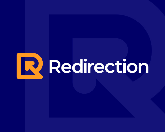 Redirection Letter R Logo
