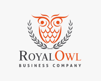 Wise Royal Owl Logo