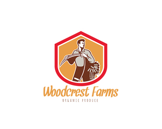 Woodcrest Farms Organic Products Logo