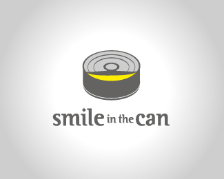 Smile in the can