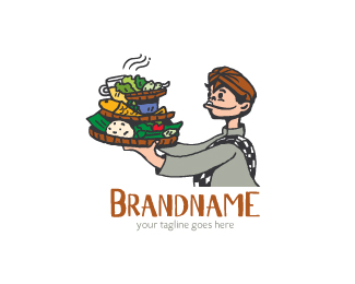 Authentic Indonesian Food Logo