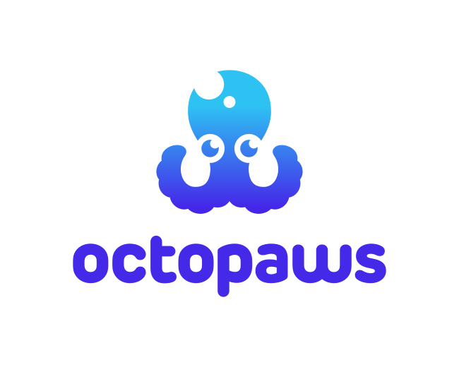 Octopaws Logo Design