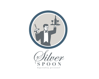 Silver Spoon Hospitality Personnel Logo