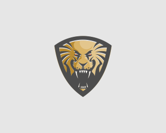 Lion Shield Logomark