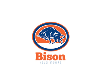 Bison House Movers Logo