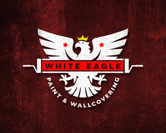 White Eagle Painting