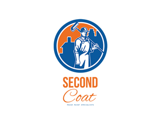 Second Coat House Painter Specialist Logo