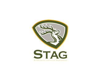 Stag Wilderness Survival Equipment Logo
