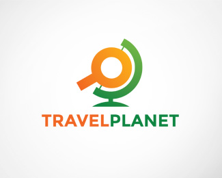 Travel Planet Logo Template