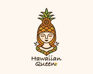 Hawaiian Queen Logo