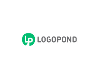 Logopond monogram+wordmark