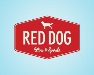 Logopond - Logo, Brand & Identity Inspiration (Red Dog)  Red Dog Logo Brand