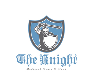 The Knight Medieval Meals and Mead Logo