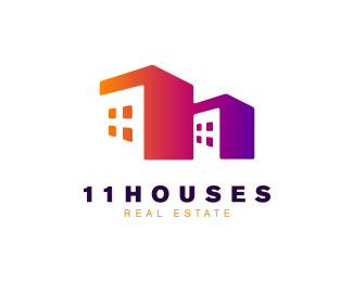 11Houses Real Estate Logo