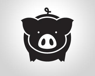 Logopond - Logo, Brand & Identity Inspiration (Dark pig shop)