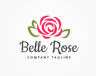 Belle Rose Logo