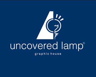 uncovered lamp graphic house