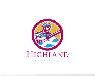 Highland Scottish Heritage Society Logo