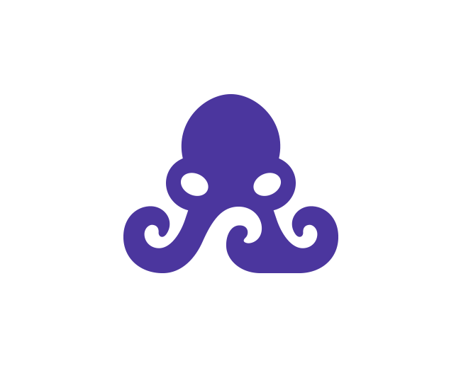 Negative Space Octopus 2.0