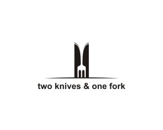 two knives & one fork