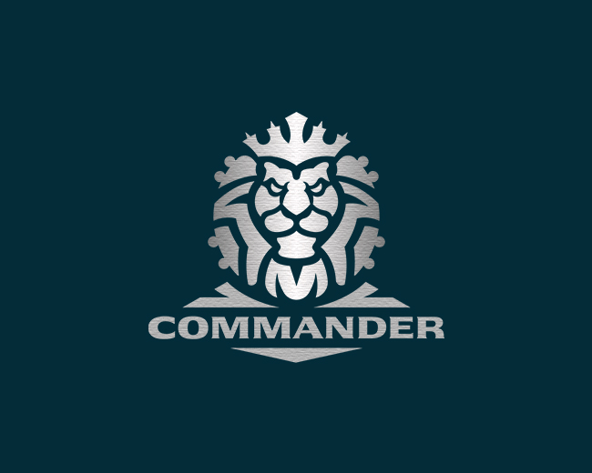 Powerful Lion Logo