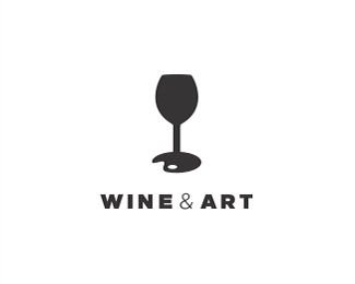 Wine and Art Studio concept