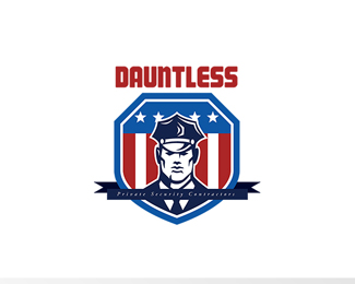 Dauntless Private Security Contractors Logo